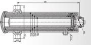 Гидроцилиндр МАЗ 503А-8603510 (3-х штоковый)