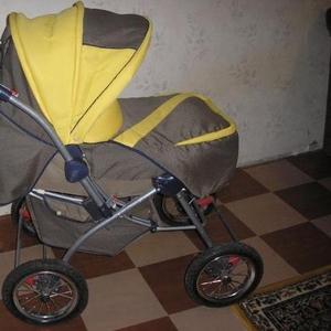 Продам б/у коляску - трансформер