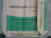 Цемент пц 400  завод Хайделберг металлопрокат машинные вагонные нормы